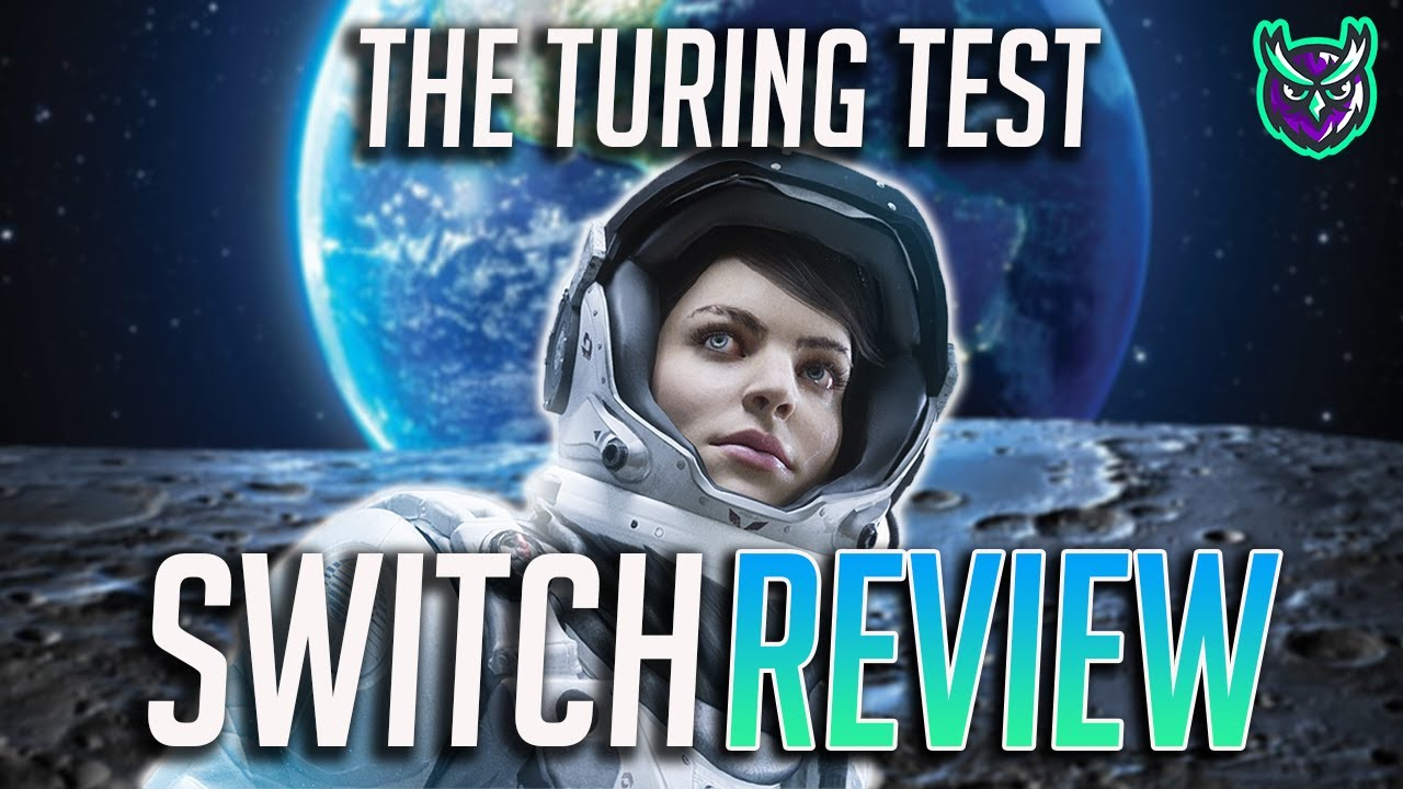 The Turing Test Switch Review - Portable Portal! (Video Game Video Review)