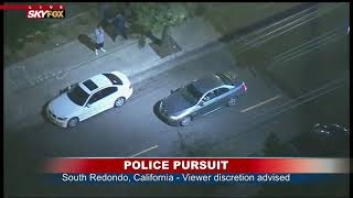 SUSPECT IN CUSTODY: Police detain apparent woman following chase in Wilmington, CA