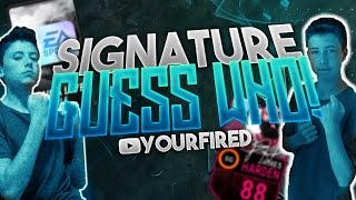 NBA LIVE MOBILE EPIC SIGNATURE PACKS GUESS WHO! COUSIN VS COUSIN PACK WARS!