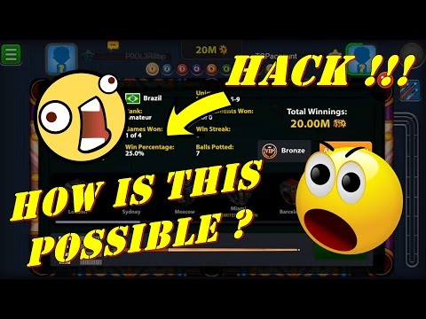 8 Ball Pool - NEW HACK AROUND | FEW GAMES - MILLIONS OF COINS | How is this possible ?