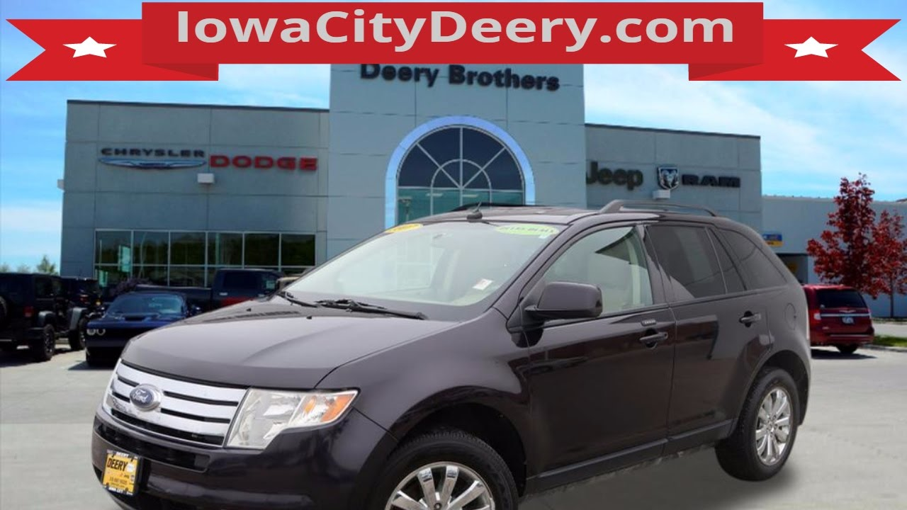 Deery Brothers Ford Edge For Sale Iowa City