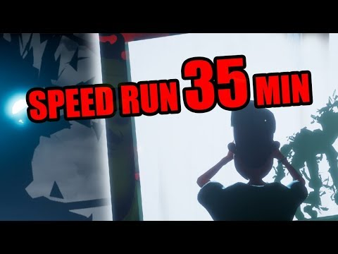 Hello Neighbor Full Game Speedrun [35 MINUTES]