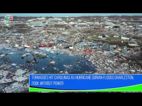 Tornadoes hit Carolinas as Hurricane Dorian floods Charleston; 200K without power
