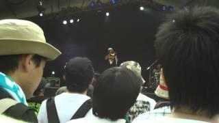 Jah Wobble & Keith Levene Poptones live Metal Box in Dub Fuji Rock Festival 2012