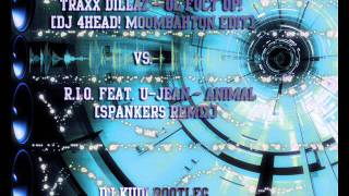 Traxx Dillaz - Ol Fuct Up! vs. R.I.O. feat. U-Jean - Animal [DJ KUDI Bootleg]
