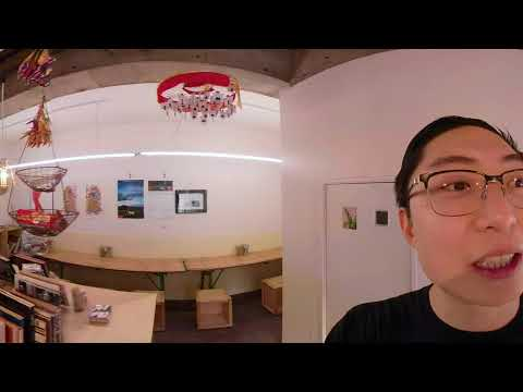 Wanderer's Stand Coffee Shop in Kyoto: GOPRO FUSION VIRTUAL REALITY 360 Travel Vlog