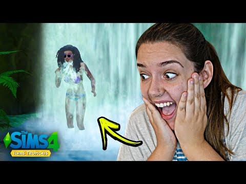 ENCONTREI ALGO INCRÍVEL! - The Sims 4 Ilhas Tropicais