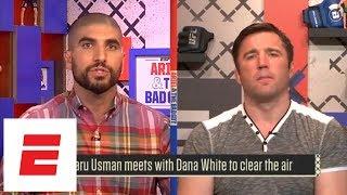 Kamaru Usman clears air with Dana White | ESPN