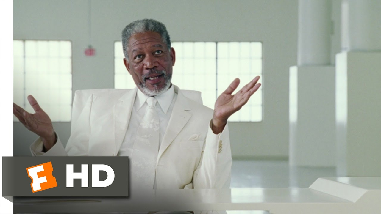 Download Bruce Almighty (4/9) Movie CLIP - Bruce Meets God (2003) HD