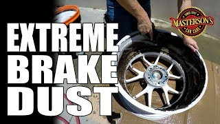 How To Clean EXTREME Brake Dust - Masterson's Car Care - Aristo Wheels