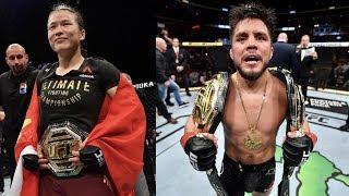 Новая чемпионка UFC, Вейли Жанг о бое с Генри Сехудо, анонс UFC 242