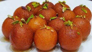 बिना मावा (खोया)के  गुलाबजामुन कैसे बनाएं/gulab jamun recipe with milk powder/gulabjamun in hindi