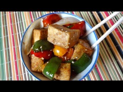 Tofu con Pimientos - Receta