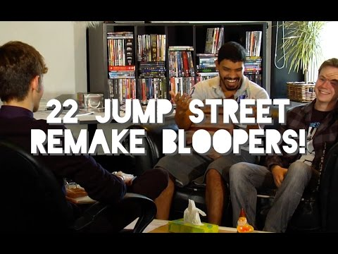 22 Jump Street - Therapy Scene Remake BLOOPERS