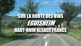 La route des vins - Eguisheim Haut-Rhin Alsace France HD - Sony FDR-AX53