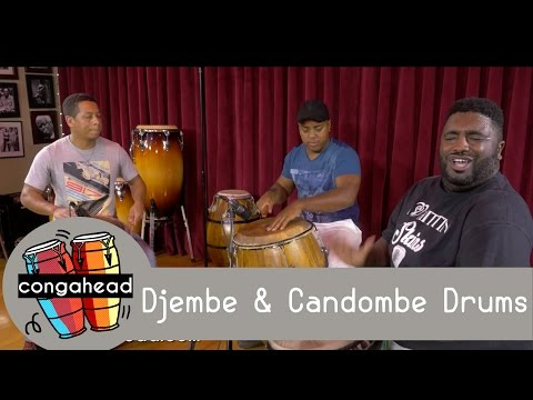 Djembe & Candombe Drums
