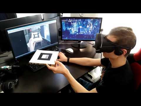 Mixing VR and AR : Oculus Rift + ARToolkit