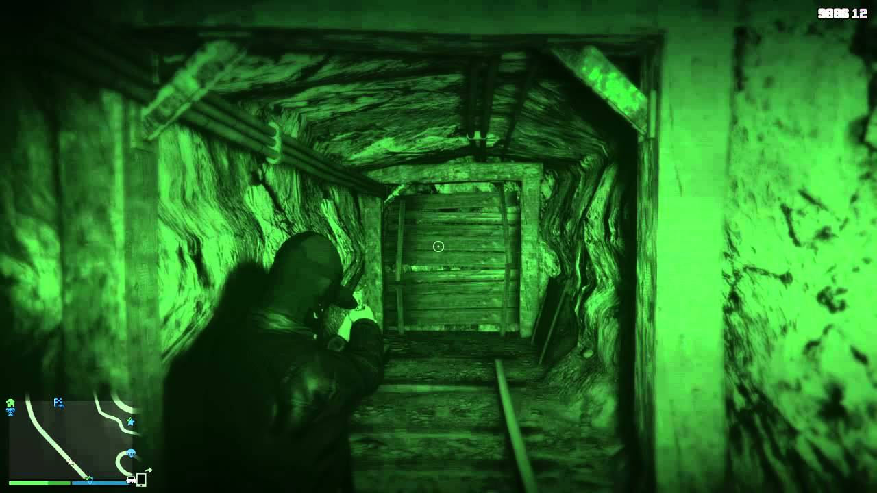 GTA 5 Online - The Mysterious Mineshaft Ghost Obsession ...