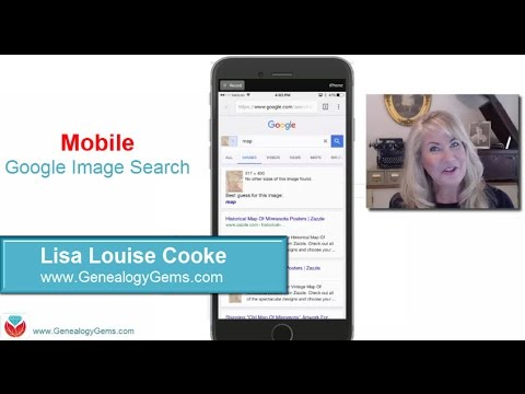 How To Google Search Images - Smartphone & Tablet (Family History & Genealogy)