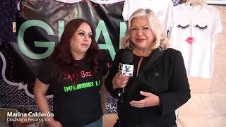 Reconocen emprendedores a Marina Calderon