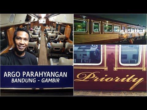 Trip by Train - MEWAH BANGET!! Naik Kereta Priority di Argo Parahyangan
