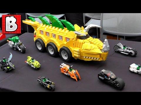 Bricks LA 2016!!! Tons of Custom Lego Creations!