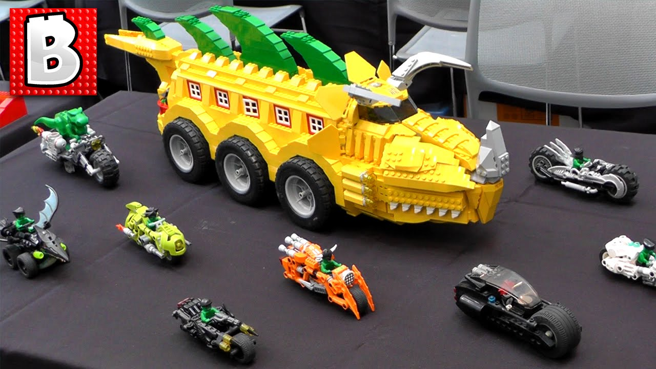 Bricks LA 2016!!! Tons of Custom Lego Creations! - YouTube