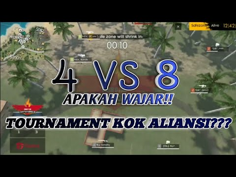 TOURNAMENT KOK ALIANSI!! KLARIFIKASI TEAM DJK & FBL - FREE FIRE INDONESIA