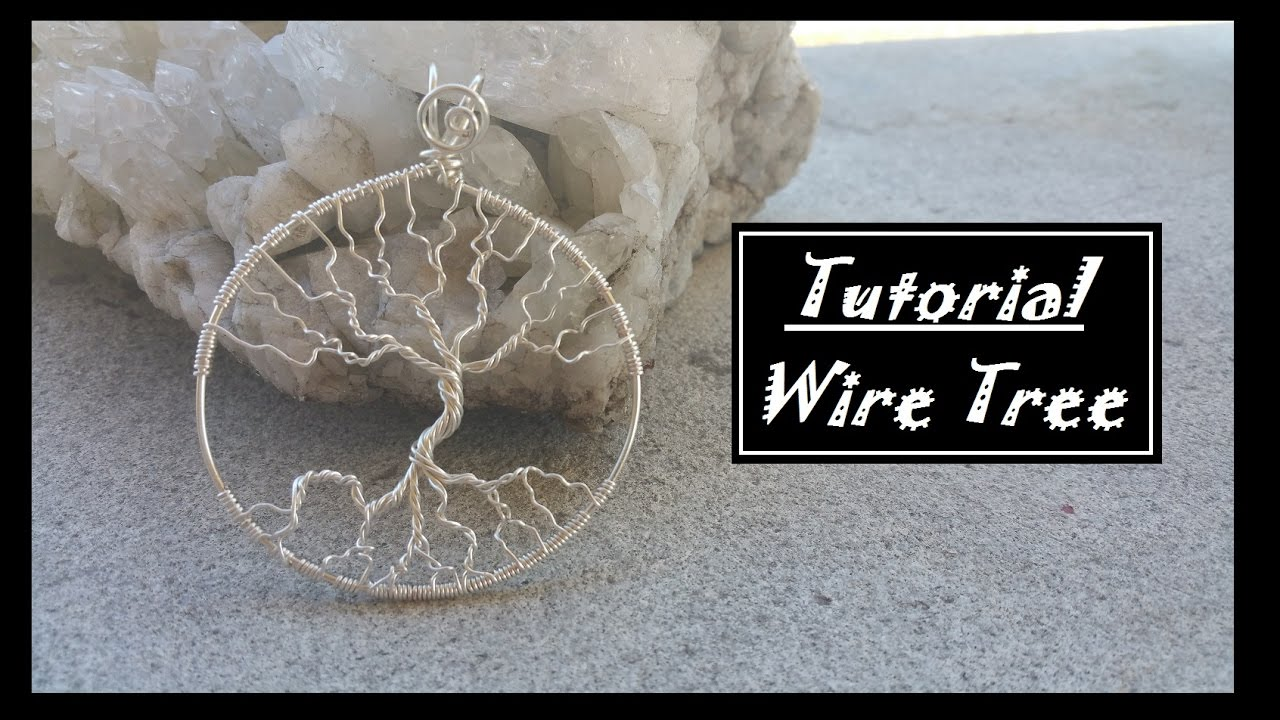 DIY Leafless tree Pendant - YouTube