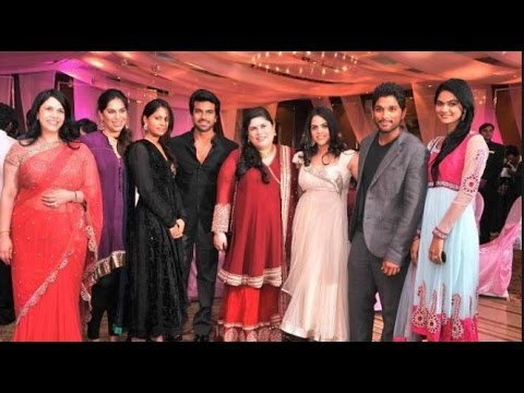 Allu Arjun Sneha reddy and Ram charan...