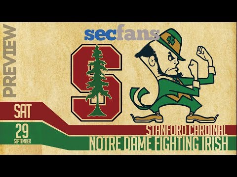 Stanford vs Notre Dame - 2018 Preview & Predictions - College Football Cardinal vs Fighting Irish