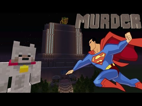 Minecraft Xbox Murder Mystery - Daily Planet (Superman)