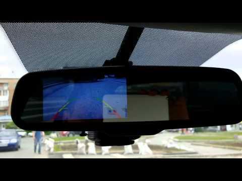 Работа зеркала и камеры заднего вида на Kia Ceed JD