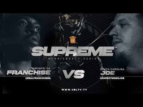 JOE VS FRANCHISE SMACK/ URL RAP BATTLE