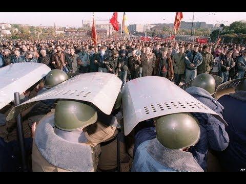 1993: Russians defending the Soviet Union