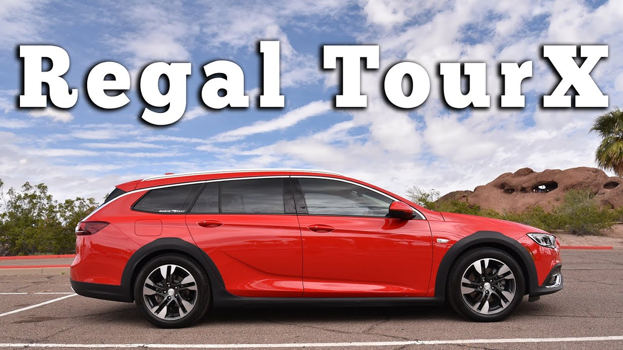 2019 Buick Regal TourX: Regular Car Reviews - YouTube