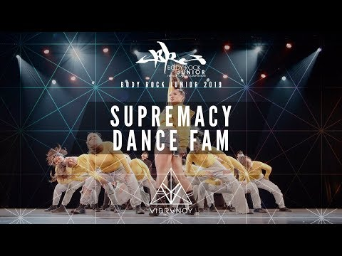 Supremacy Dance Fam | Body Rock Jr 2019 [@VIBRVNCY Front Row 4K]