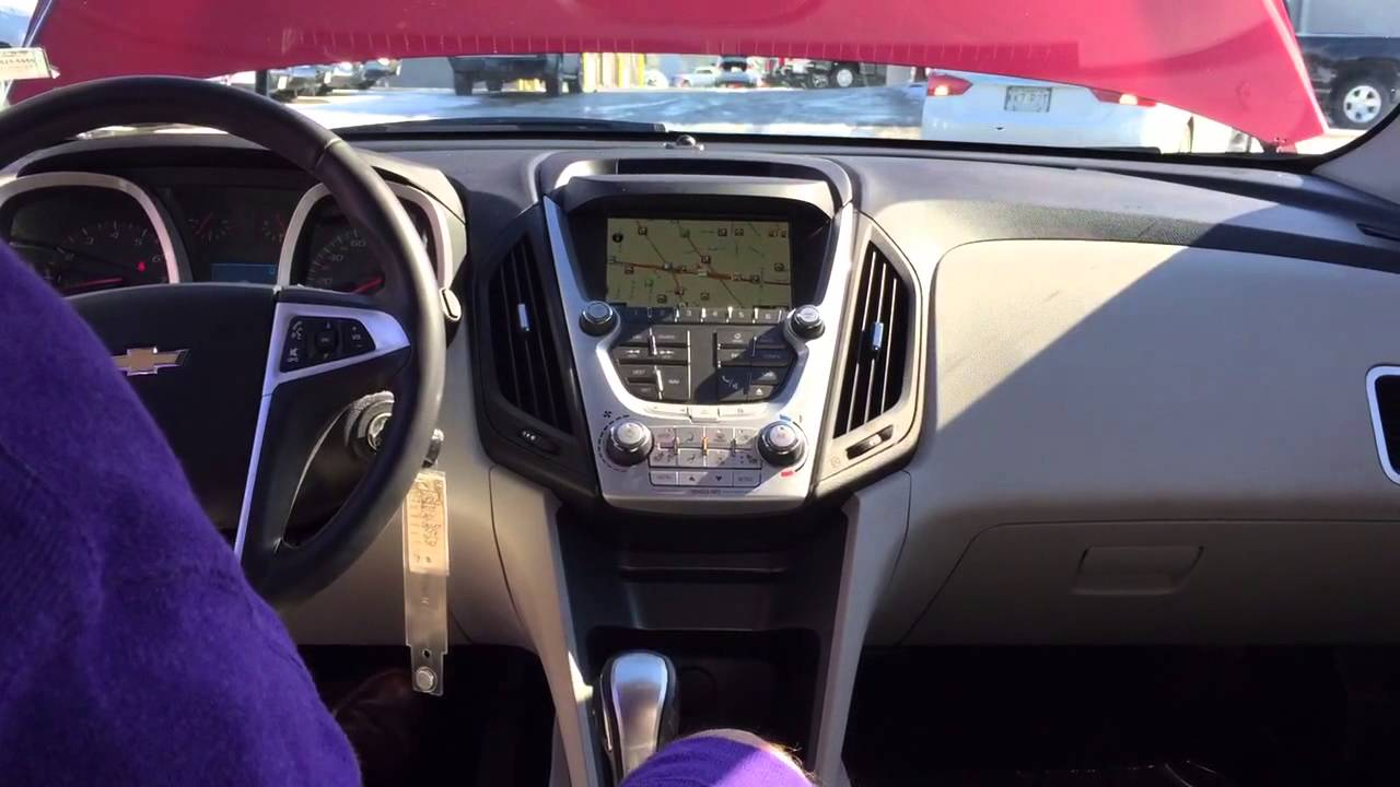 equinox ltz chevrolet brown interior saddle