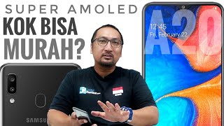 Review Samsung Galaxy A20 2019: 2 Jutaan Dapat Samsung Layar Super AMOLED, Murah? - Indonesia