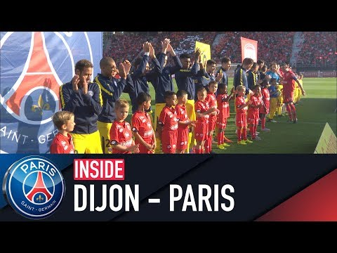 INSIDE - DIJON VS PARIS SAINT-GERMAIN with Thomas Meunier & Dani Alves