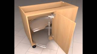 Diy-kitchens.com - Corner Carousel Mechanism