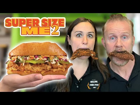 World's GREATEST Chicken Sandwich - Super Size Me 2
