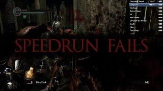 Dark Souls: Speedrun Fails