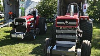 Massey Ferguson Light Pro Stock Tractor(Warpath, Trailblazer, Beyond Limits at end) Wilmington, Ohio
