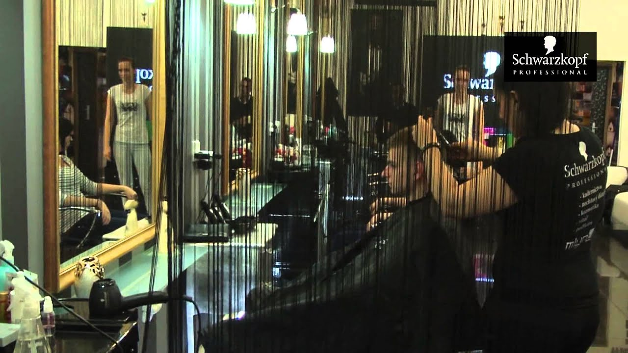Sal n schwarzkopf professional gal ria mlyny nitra youtube for Salon schwarzkopf