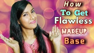 How To Get Flawless Makeup Base | | HD 720pix