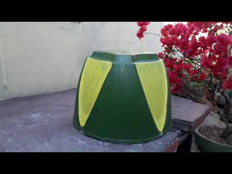 How to make beautiful cement pot at home easily.