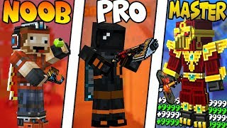 NOOB VS PRO VS MASTER - [PIXEL GUN 3D EDITION]*EPIC!*