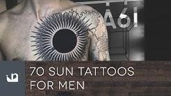 70 Sun Tattoos For Men