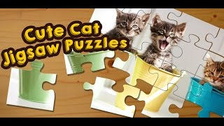 Cats and Kittens Jigsaw Puzzles Game for Kids - App Gameplay Video
